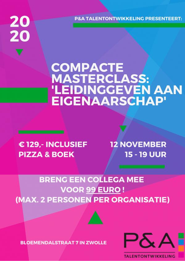 Compacte Masterclass 12 november