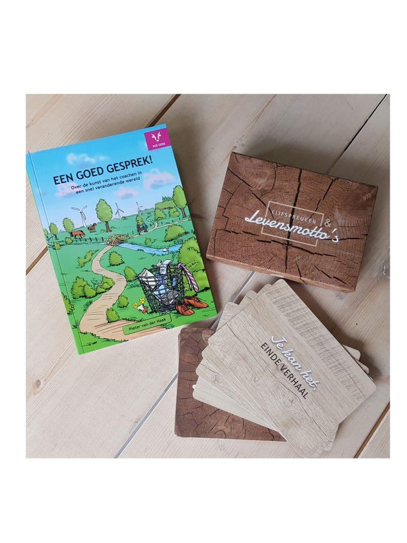 Coachpakket (boek + spel)